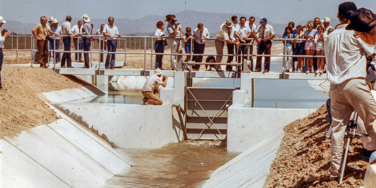 35th Anniversary of First Water Delivery