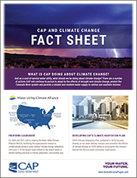 CAP Climate Change Fact Sheet Cover